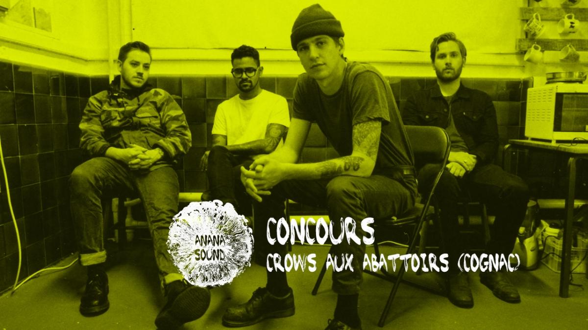 (terminé) 2 places à gagner pour le concert de Crows aux Abattoirs à Cognac